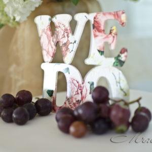 сватба, , сватбена декорация, сладък бар, love is sweet, топ за торта