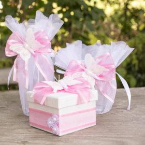 кръщене, ритуален, комплект, пепруда,розово, бяло