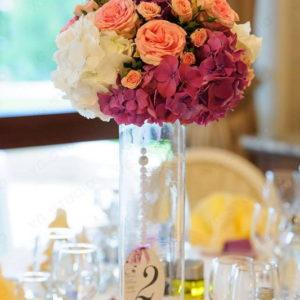 сватба, лятна сватба, изнесена , арка, декорация , сватбена, хортензия