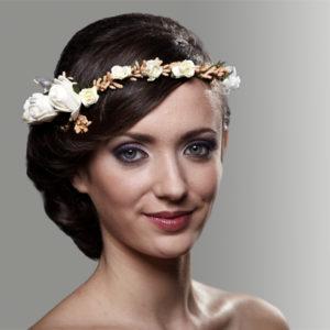 сватба, кърщене, шаферки, аксесоар за коса, сватбен аксесоар, венец, венче, цветен