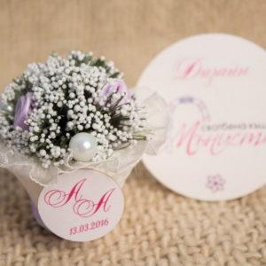 Подаръци за гостите на Сватба