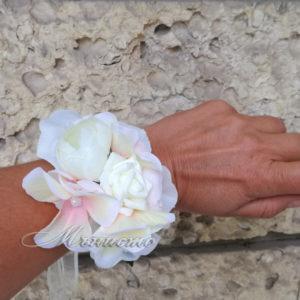 сватба, шаферка, шаферски, гривна , хортензия , роза