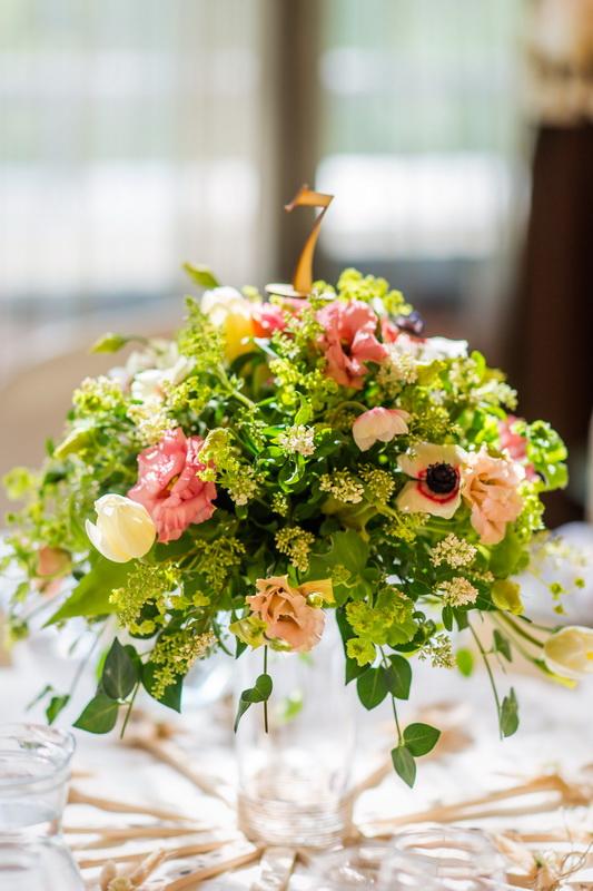 сватба, сватбена декорация, сватба в тера