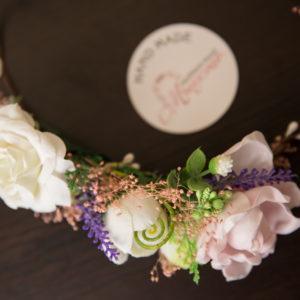 сватбен, шаферки, цветя, венец, венче , сватбен венец, цветя