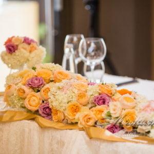 сватба, лятна сватба, изнесена , арка, декорация , сватбена, хотел Силвър