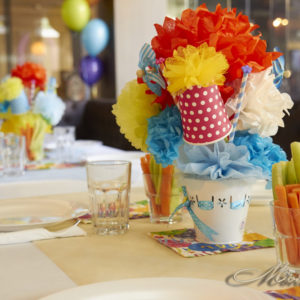 рожден ден, декорация, годинка, цветна, първи