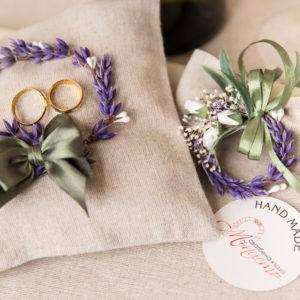 сватба, комплект за сватба, ритуален комплек, лавандула