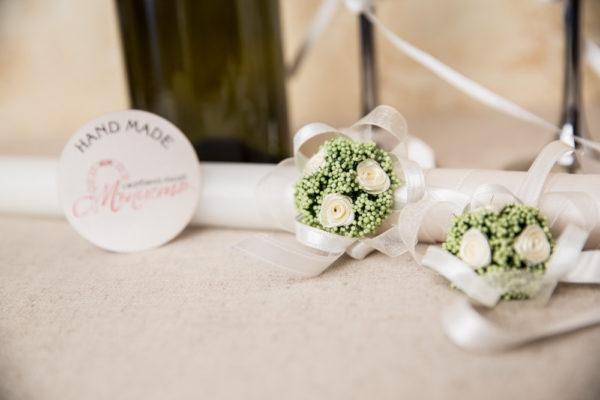 сватба, комплект за сватба, ритуален комплек,свещи за сватба