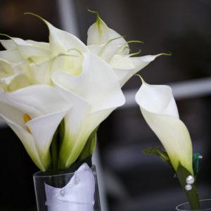 сватба, декорация за сватба,булченски букет кали