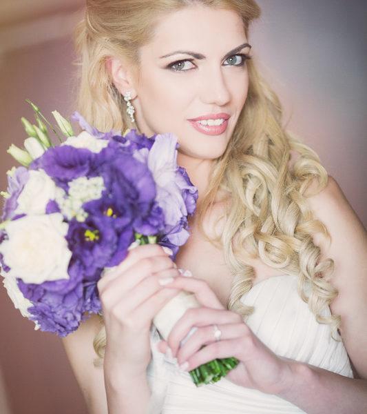 сватба, декорация за сватба,булченски букет, свтаба в лилаво