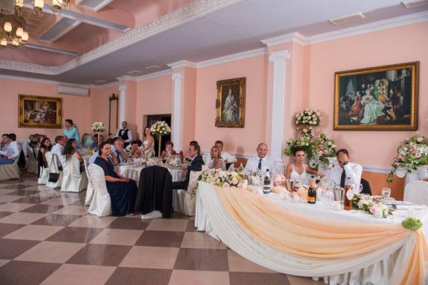 сватба, декорация за сватба, изнесена церемония, сватба в Тера