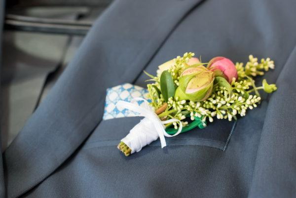 сватба, сватбена, бутониера, младоженец