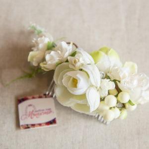 сватба, сватбен, аксесоар, коса, булчински