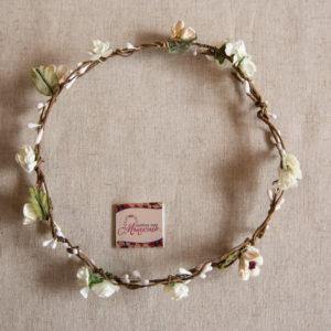 венец, коса, аксесоар, шаферки, венче, цветя