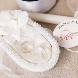 сватба, ритуален, комплект, орхидея, сватбен