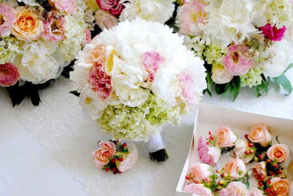 сватба, сватбен, бутониера, букет, декорация, булаченски