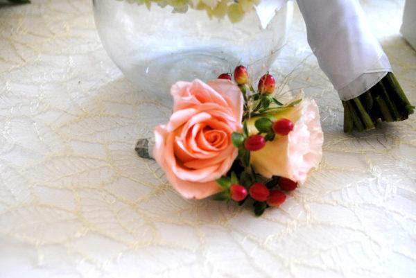 сватба, сватбен, бутониера, букет, декорация