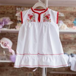 детска носия, детска рокля с шевици, носия за момиче