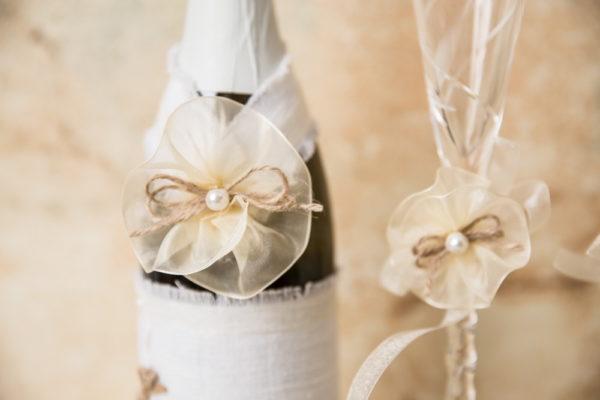 сватба, сватбен, ритуален, комплект, лен, органза