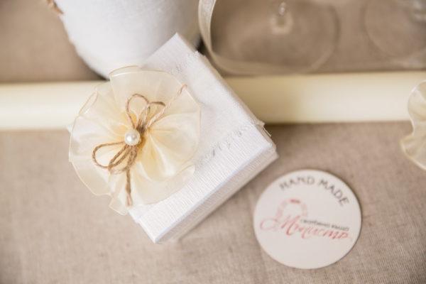сватбен комплект, кутия за халки, възгланичка за халки, рустик стил
