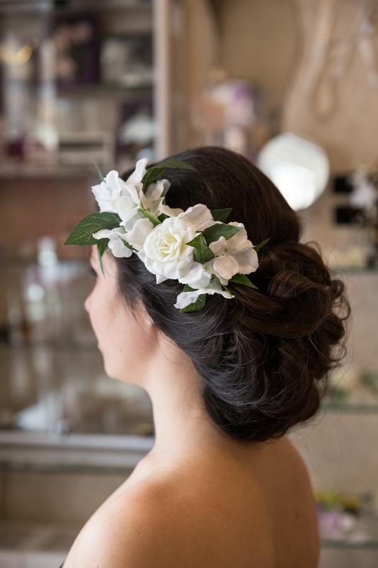 сватба, аксесоар, коса, сватбен