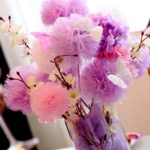 декорация, пеперуди, кръщене, погача, рожден ден, подаръци, гости