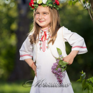 сватба, фолклорна, носия, българска , носия, венец