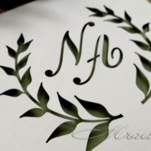 сватбени покани, покани за сватба, покана в плик