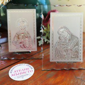 кръщене, подаръц, гости, икона, икони, богородица