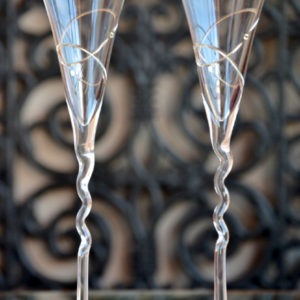 сватбени, чаши, ритуални, сваровски