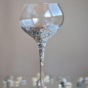 бокал за вино, за църквата, сватбен бокал