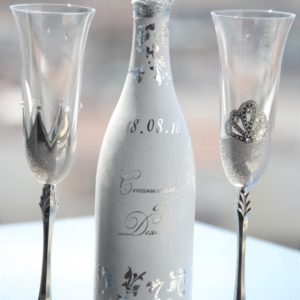 сватба, сватбено, шампанско-chashi