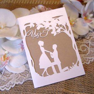 сватбени покани, лазарни покани