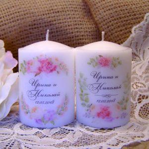 сватбени подаръци, свещи за гости, гости за подаръци