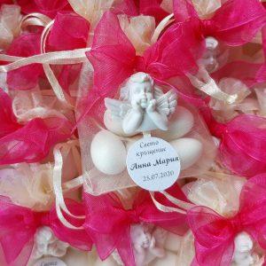 подаръчета гости кръщене- подаръчета с ангелче