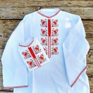 детска народна носия, подарък за кръстници, народен стил