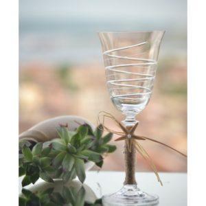 бокал, чаша за църквата, морска декорация