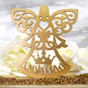 ангелче за кръщене, подаръци за кръщене, сувенири за гости