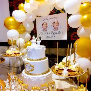 декорация за кръщене, сладък бар, детски рожден ден