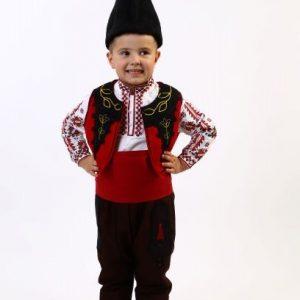 детска носия за момче, детски калпак, пояс за носия