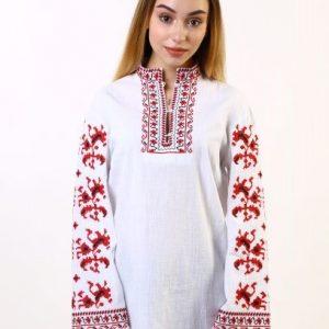 женска носия, женска риза с шевици, дълга риза за носия