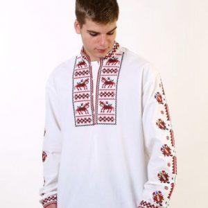 мъжка риза с шевици, мъжка носия, риза за кръщене