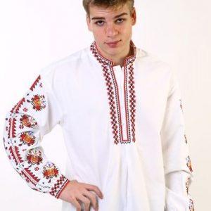 мъжка риза с шевици, бродирана, за носия, за кръстнис