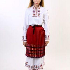 женска носия, за сватба, народен стил, бръчник