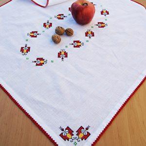 Кърпа за погача с шевици, месал за погача, кърпа с народни шевици
