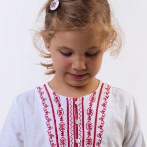 деска риза с шевици, блуза с шевици за момиче